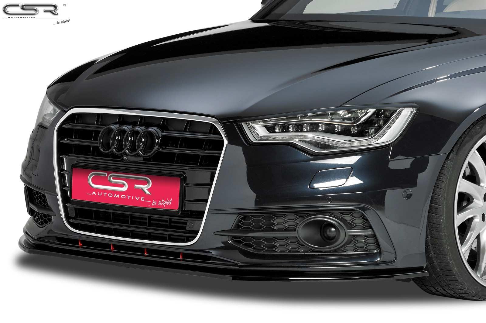 Cupspoilerlippe Glossy für Audi A6 C7 S-Line CSL163-G
