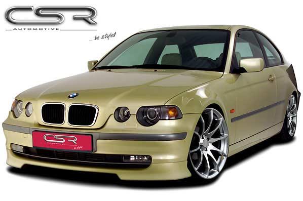 BMW 3 Series E46 Compact Lip Spoiler - GRP