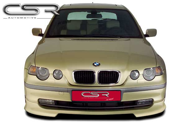 BMW 3 Series E46 Compact Front Lip Spoiler - GRP [Image 2]