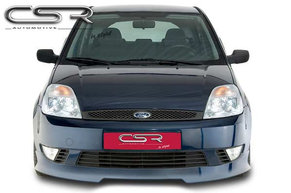 Ford Fiesta 6 (01-05) Front Lip Spoiler [Image 2]