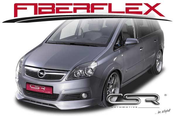 Vauxhall/Opel Zafira B (05-08) Front Lip Spoiler [Image 3]