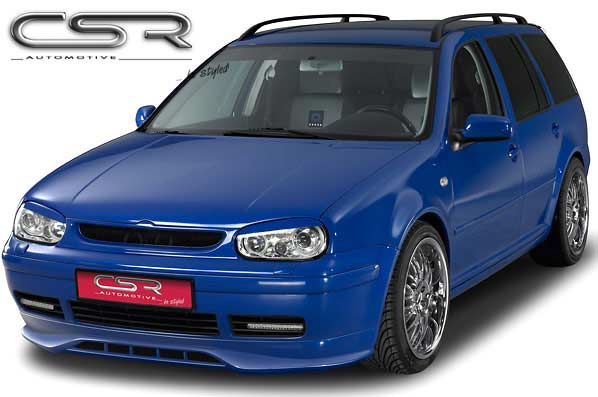 VW Golf Mk4 Estate CSR Front Bumper Lip - GRP