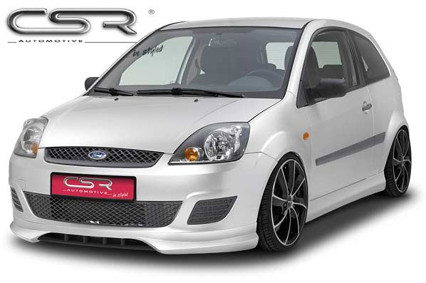 Ford Fiesta 6 (05-08) Front Lip Spoiler