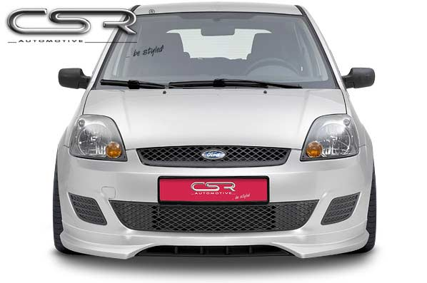 Ford Fiesta 6 (05-08) Front Lip Spoiler [Image 2]