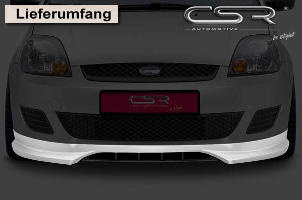 Ford Fiesta 6 (05-08) Front Lip Spoiler [Image 3]