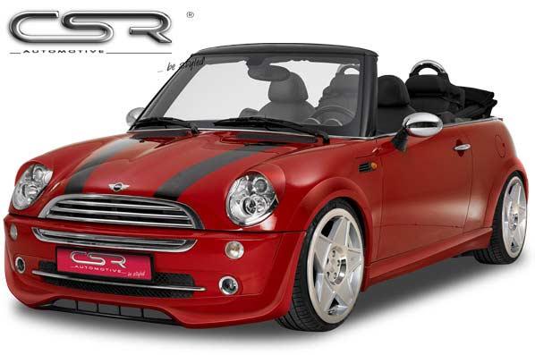 Mini R50: R52 Front Bumper Lip Spoiler - GRP