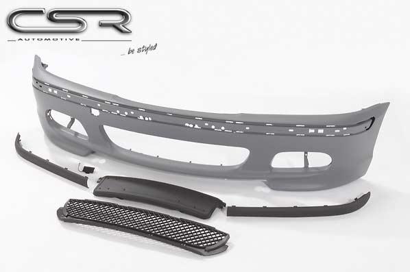 BMW 3 Ser E46 2/4 Dr CSR Front Bumper - ABS [Image 2]