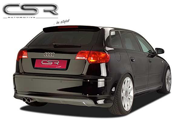 Heck Spoiler Heckansatz Audi A3 8PA Sportback HA014