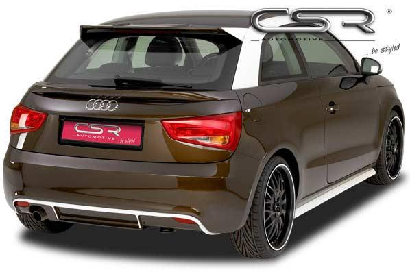 Audi A1 (10-15) Rear Bumper Diffuser - GRP [Image 2]