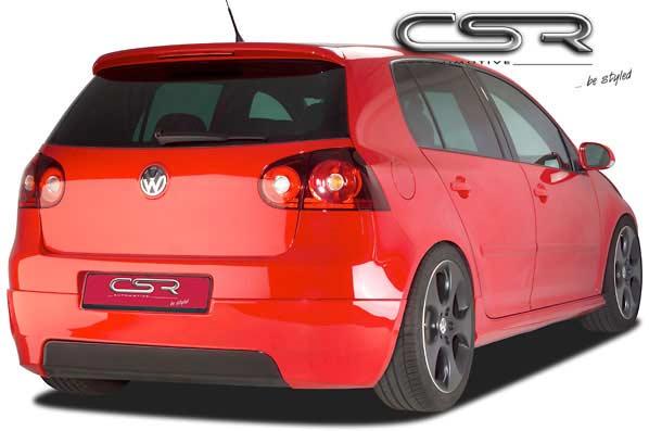 VW Golf 5 (03-09) Rear Bumper Extension - ABS