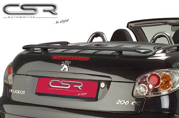 Peugeot 206CC  Boot Spoiler - GRP