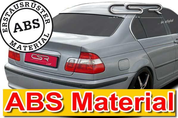 BMW 3 Series E46 Saloon CSR Rear Window Cover [Image 2]
