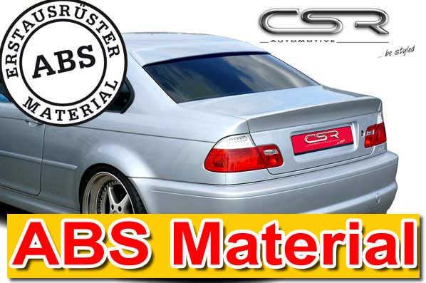 BMW 3 Series E46 Coupe CSR Rear Window Cover [Image 2]