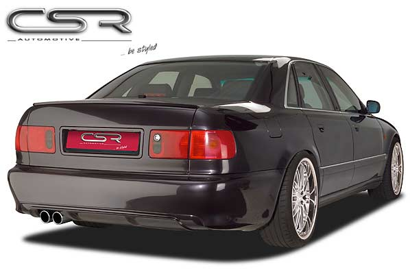 Audi A8: D2 (94-02) Full Rear Bumper - GRP