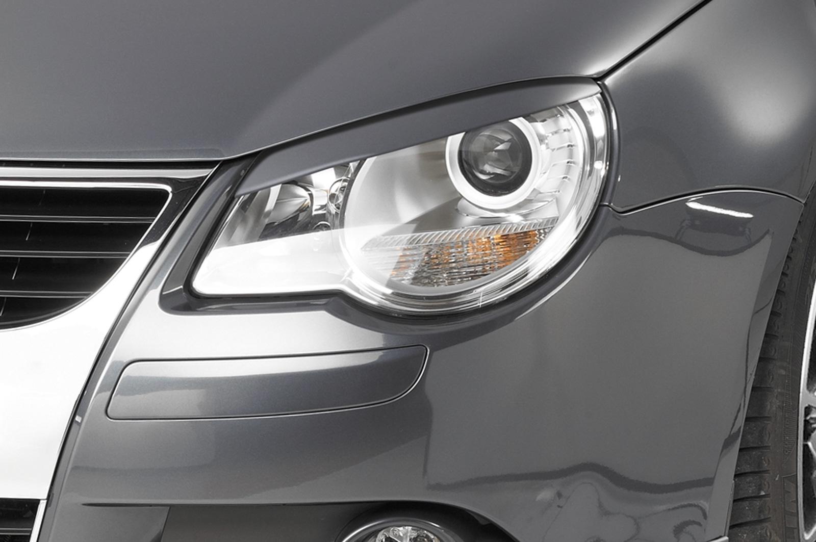 VW Eos (06-10) Headlight Brows - ABS