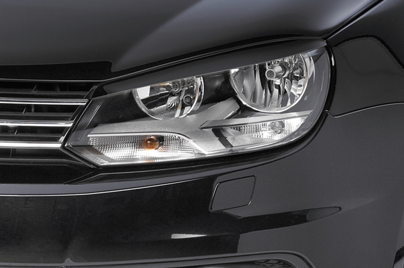 VW Eos (01:11 on) Headlight Brows - ABS