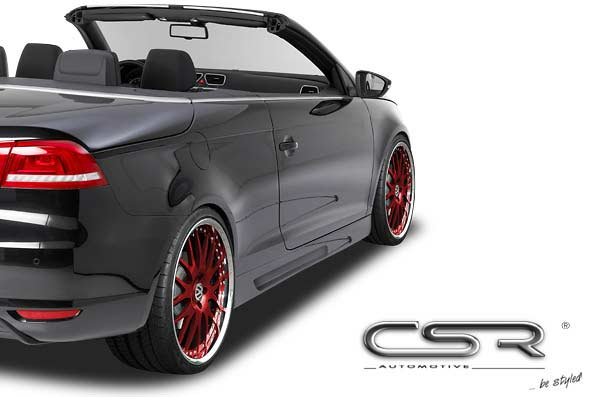 VW Eos (06 on) Side Skirts - GRP [Image 2]