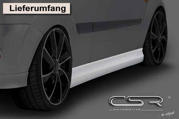 Ford Fiesta Mk6 3Dr (05-08) Side Skirts  [Image4]