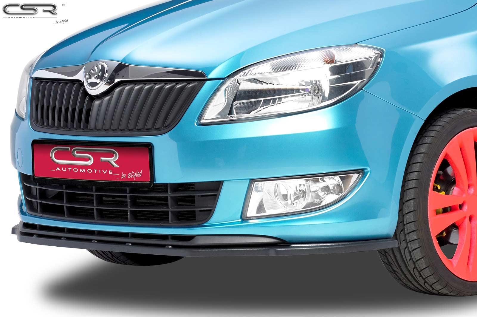 CSR-Automotive Cupspoilerlippe Spoilerschwert mit ABE schwarz matt CSL102