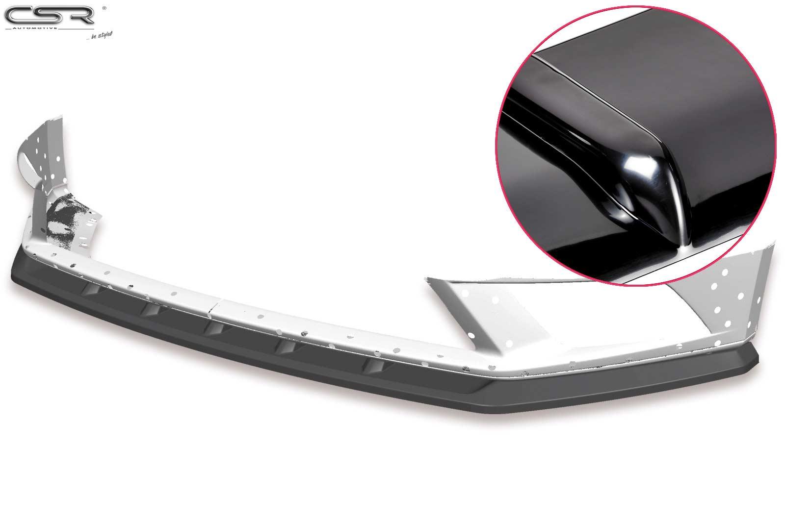 Cup Spoiler Lippe Front Ansatz Schwert für Seat Leon III Cupra//FR CSL391-L
