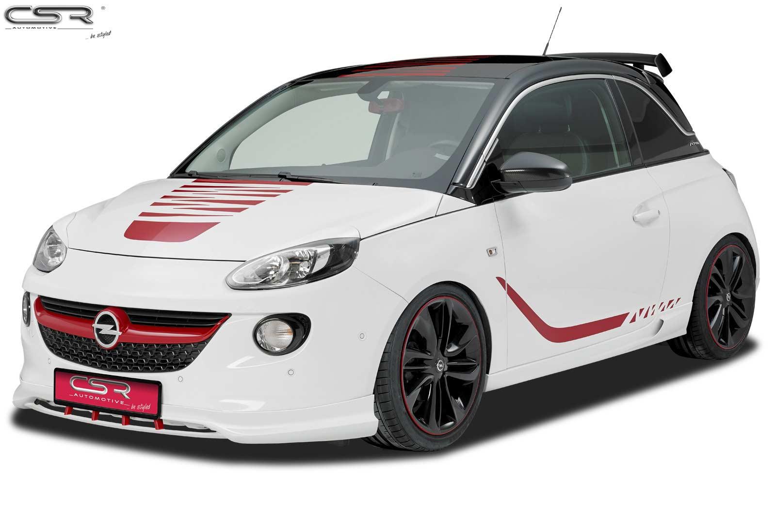 Front Ansatz Spoiler Schwert Diffusor Lippe Tuning Für Opel