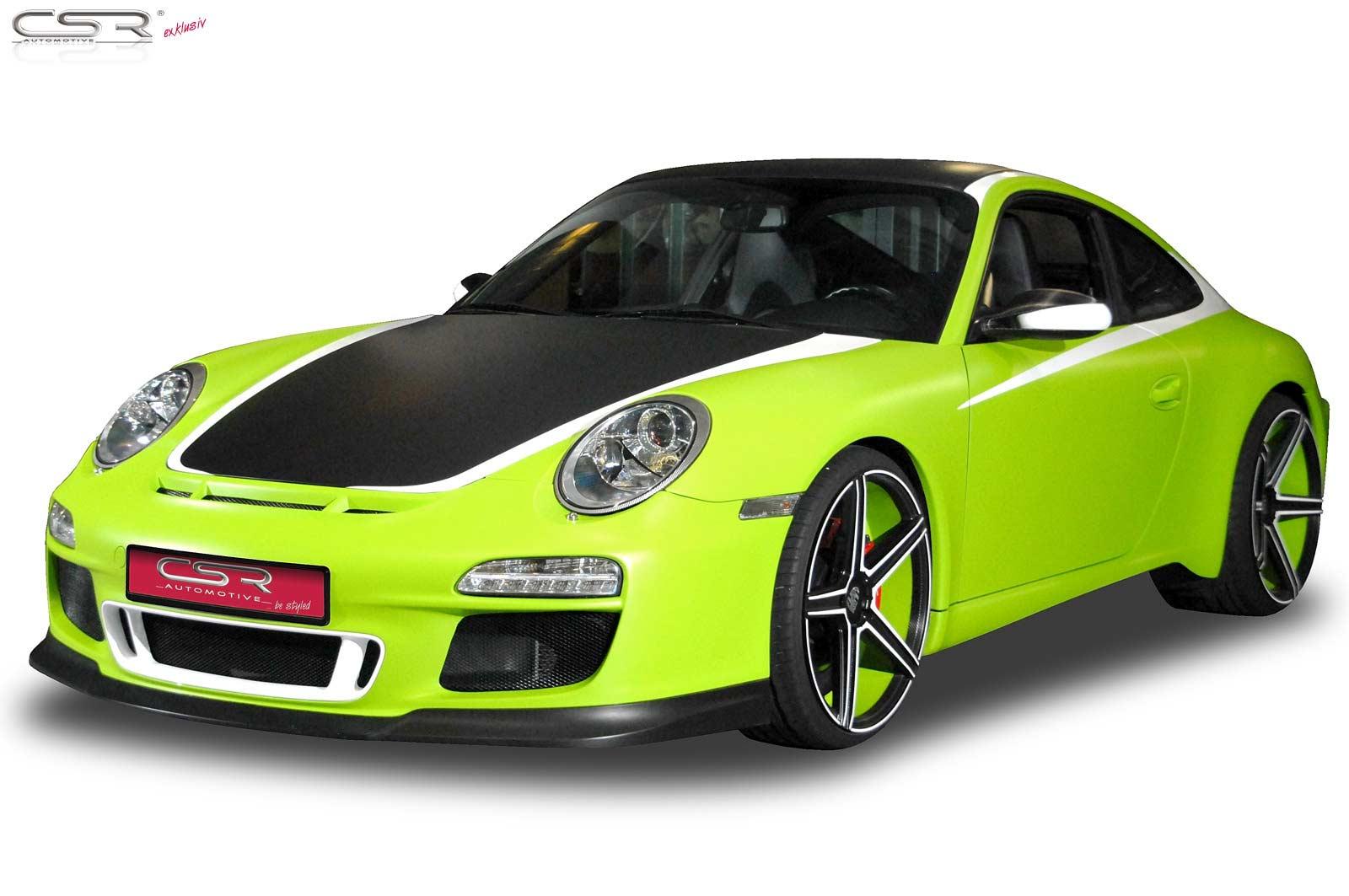 Heckansatz Heckspoiler Einsatz für Porsche 911//996 MK2 HA145
