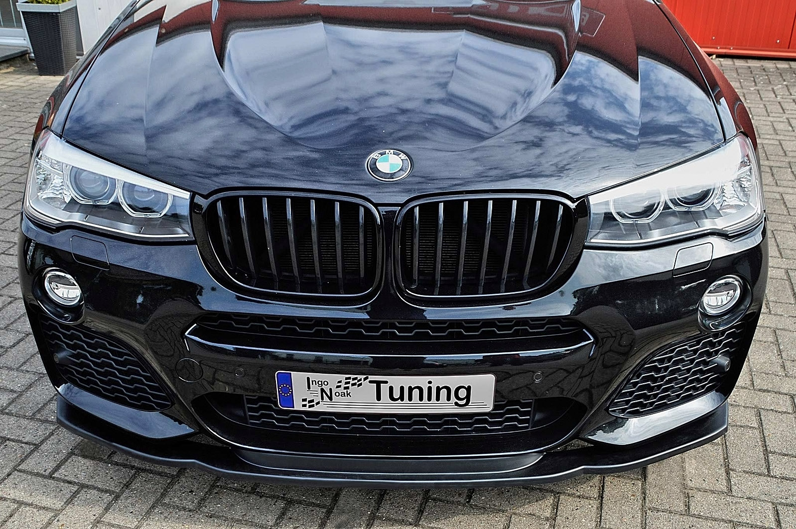 In Tuning Cupspoilerlip Glossy For Bmw X4 F26