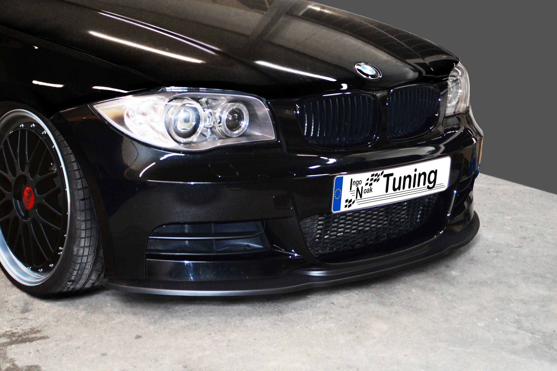 Cup Spoilerlippe BMW 1er F20 Lippe Spoiler Diffusor schwert M Performance Paket