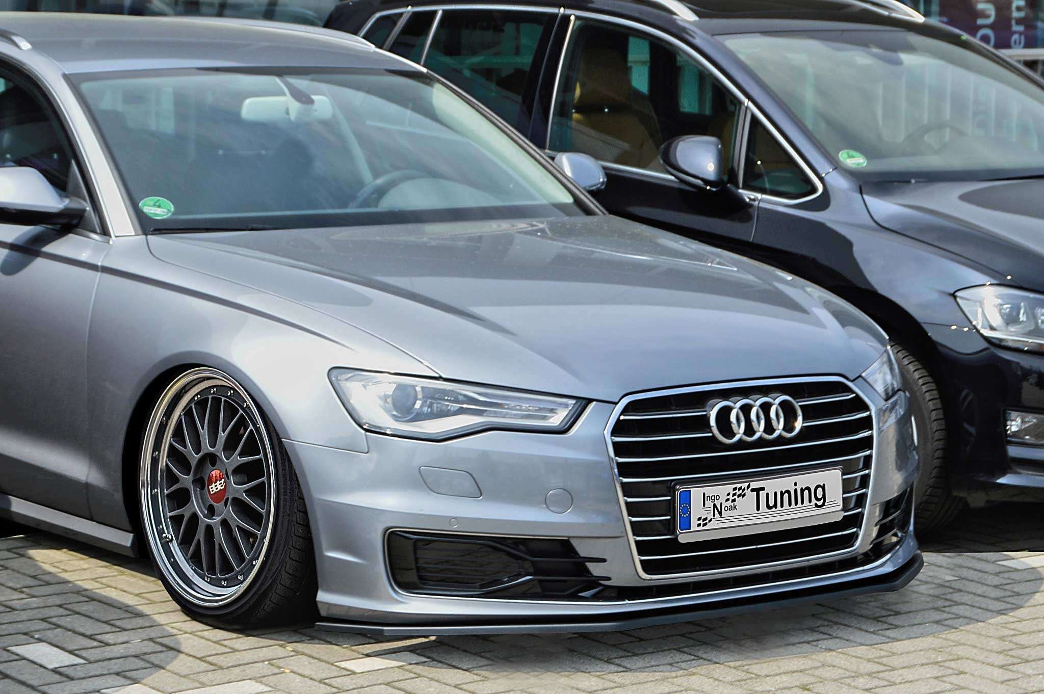 In Tuning Cupspoilerlip Glossy For Audi A6 C7 Typ 4g Facelift