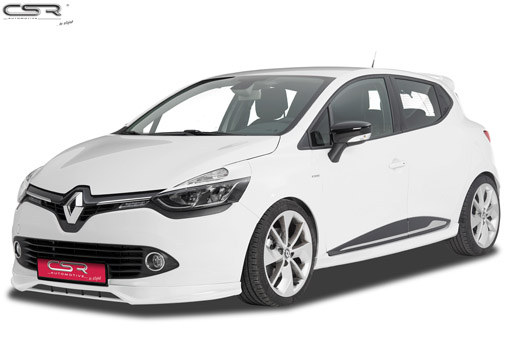 Front Spoiler Lip for Renault Clio IV Typ X98 FA232